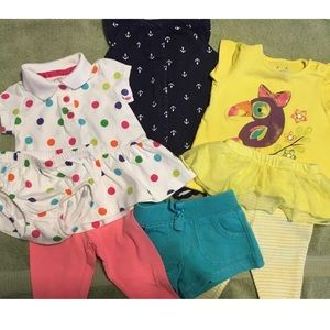 Summer lot of Infant girls size 3 months clothing